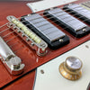 Eastwood Guitars Rivolta Mondata STD Fuoco Burst Closeup