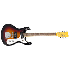 Eastwood of Canada Sidejack Pro DLX - Sunburst - Limited Edition Mosrite-inspired Electric Guitar - NEW!