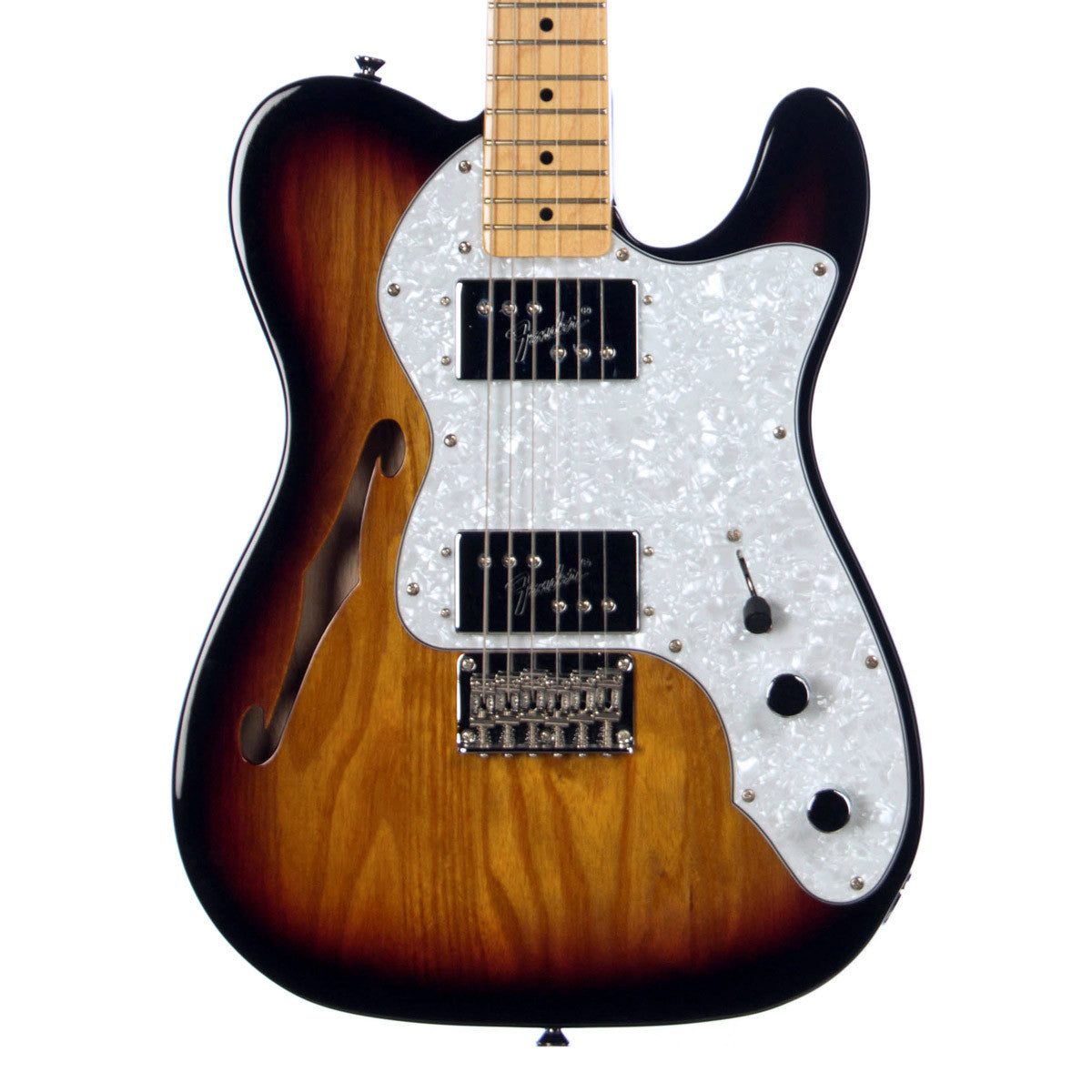 squier vintage modified 39 72 telecaster thinline make 39 n music. Black Bedroom Furniture Sets. Home Design Ideas