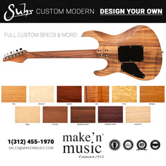 Suhr Custom Modern - Design Your Own