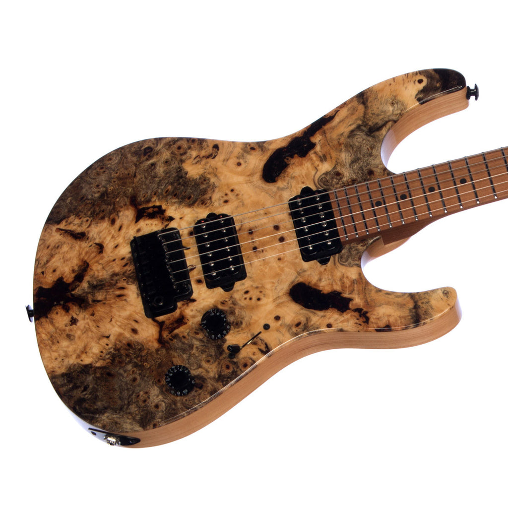 Suhr Custom Modern Buckeye Burl - Roasted Maple