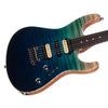 Suhr Custom Modern Carve Top Limited Edition - Aqua Blue Gradient