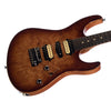Suhr Custom Modern Carve Top Limited Edition - Brown Sun Burst