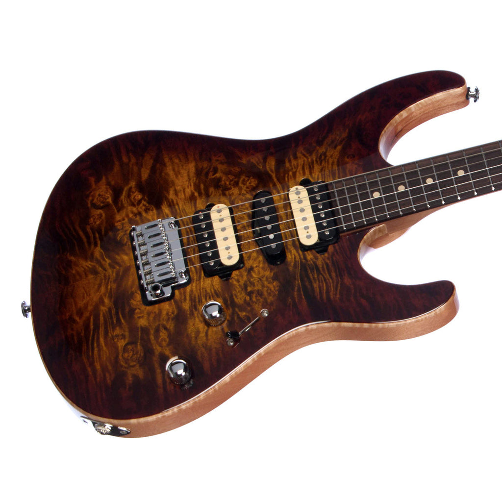 Suhr Custom Modern Carve Top Limited Edition - Bengal Burst