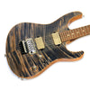 Suhr Modern Carve Top - Trans Blue Denim Slate