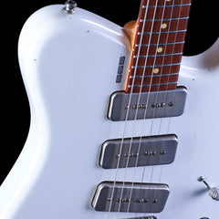 Tausch Guitars 665 Raw - Distressed White Relic - Custom Hand-Made Electric - Boutique Guitar Showcase!