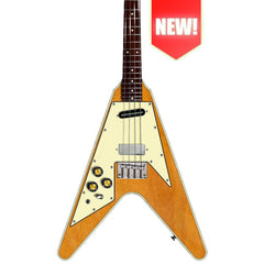 Eastwood Guitars Flying TV LEFTY - Natural - Left Handed Electric Tenor Guitars - NEW!