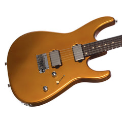 Tom Anderson Angel Player - 24 fret Custom Boutique Electric Guitar - Metallic Amber
