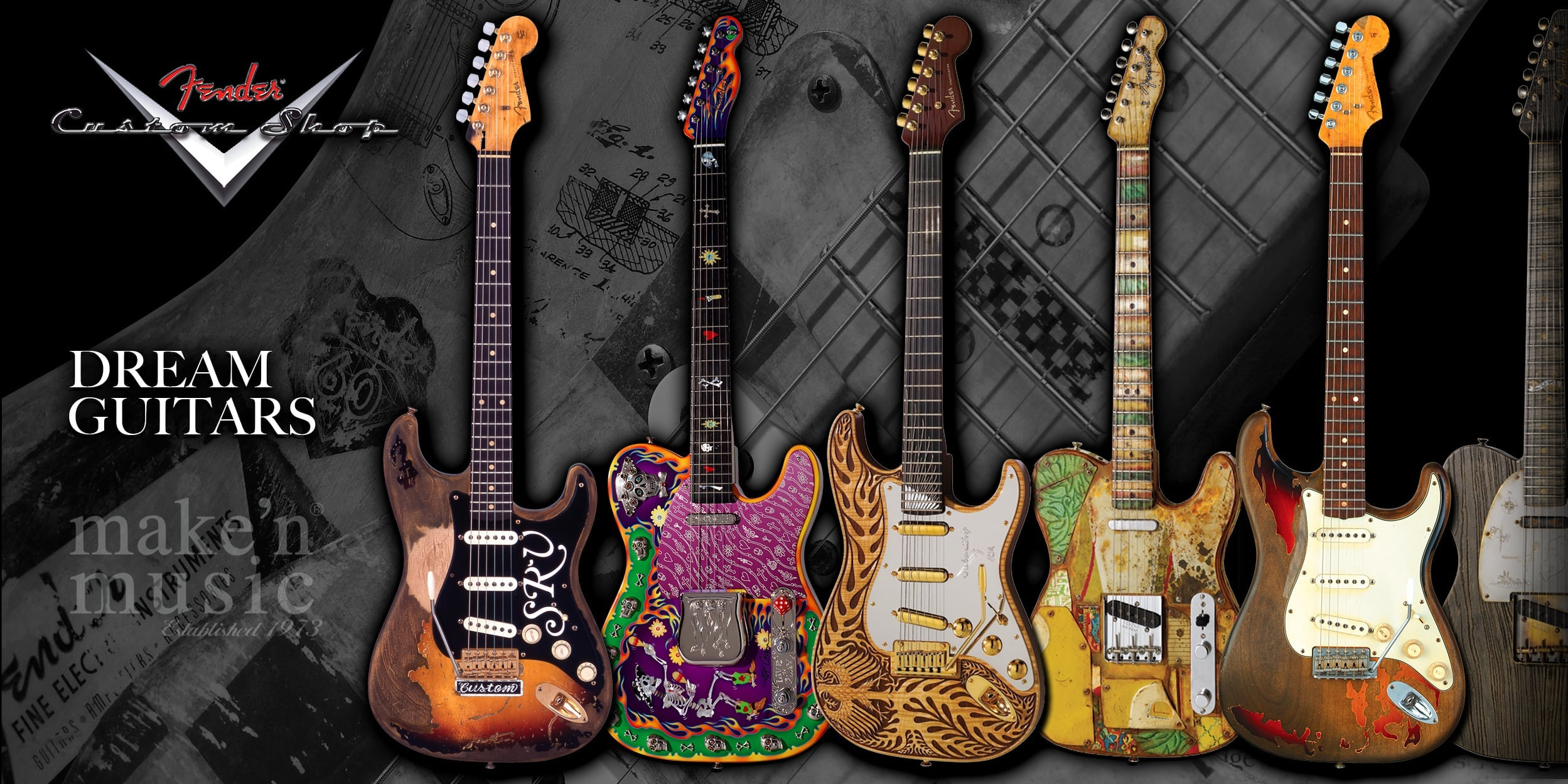 Fender Custom Shop Dream Guitars
