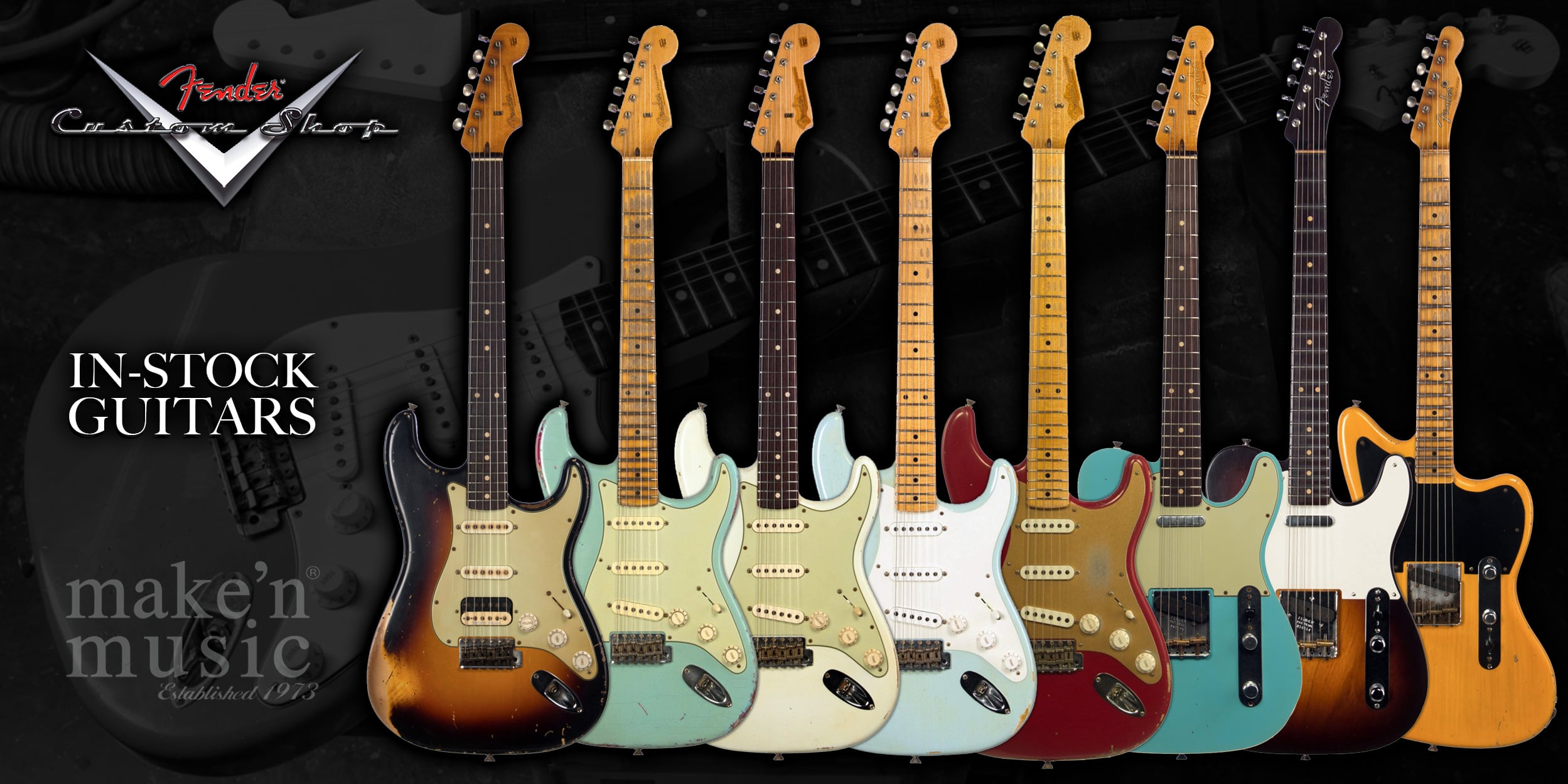 Fender Custom Shop In-Stock Guitars