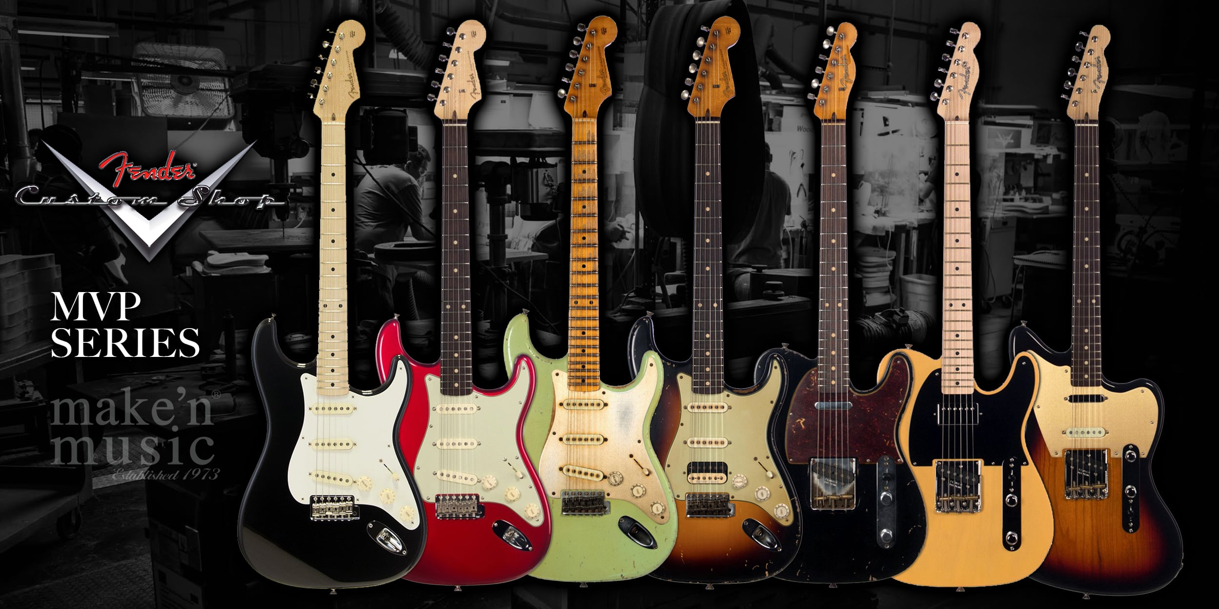 Fender Custom Shop MVP Series