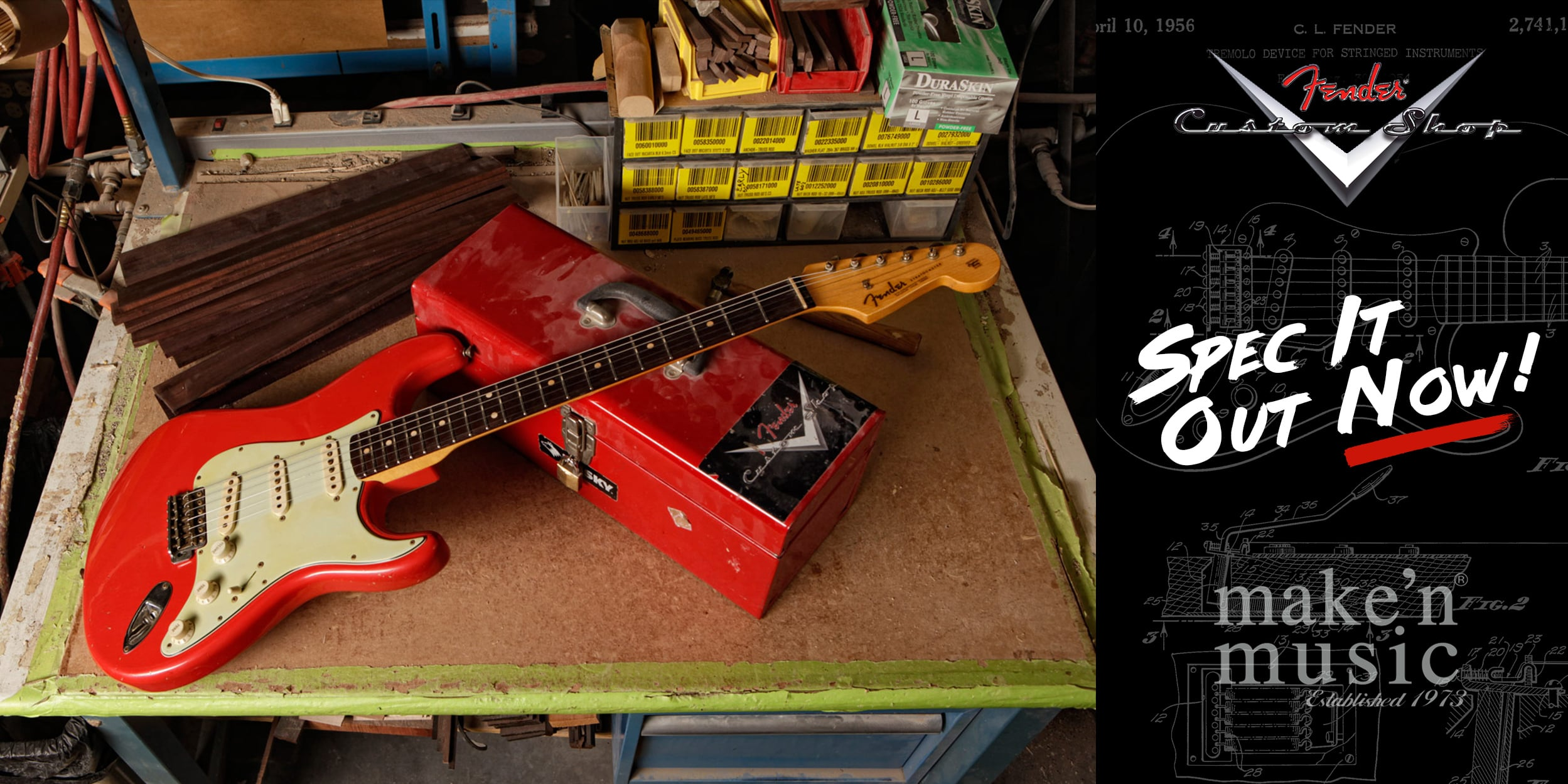 Fender Custom Shop - Spec Out Your Guitar Now