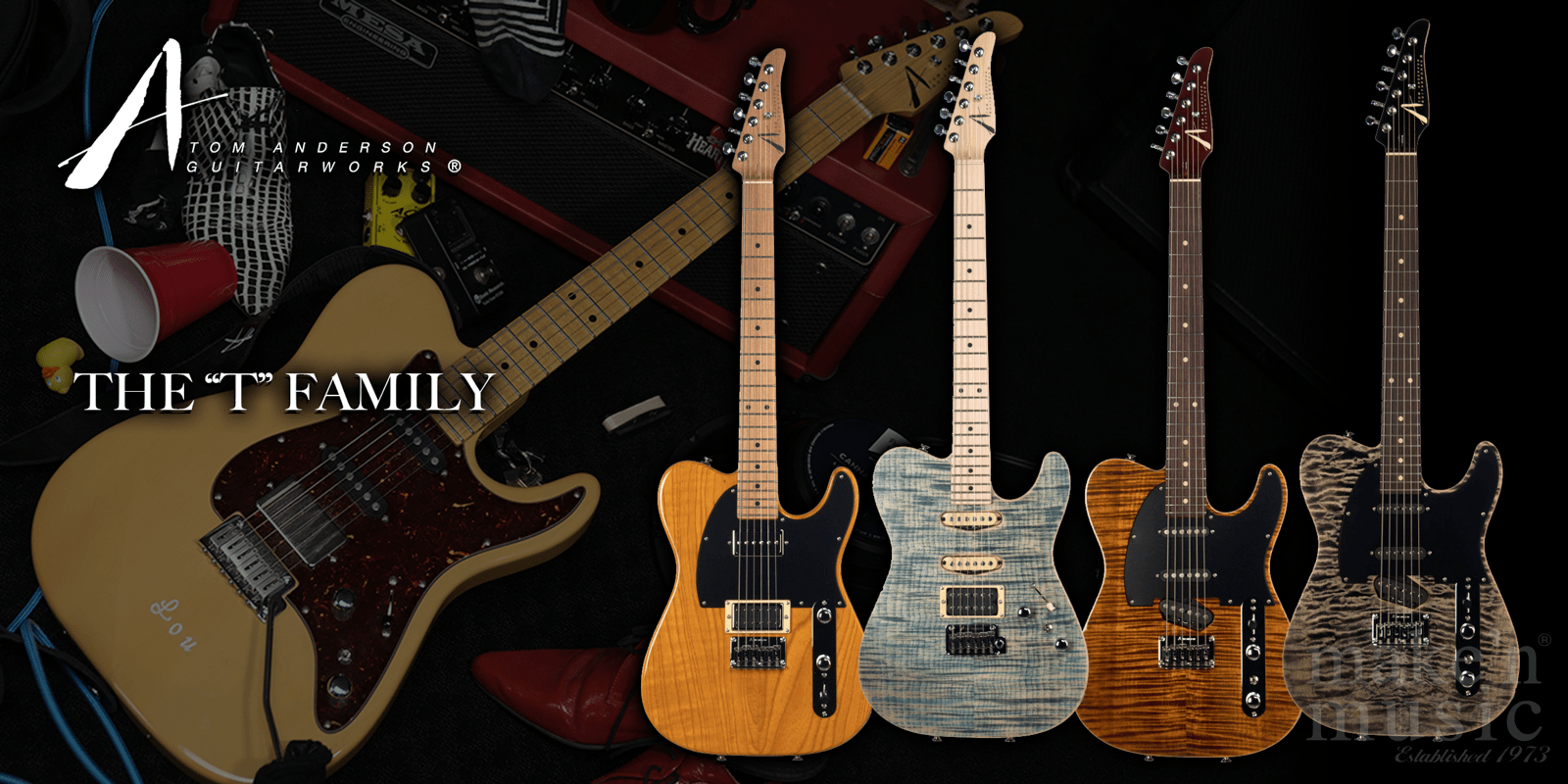 Tom Anderson T Family