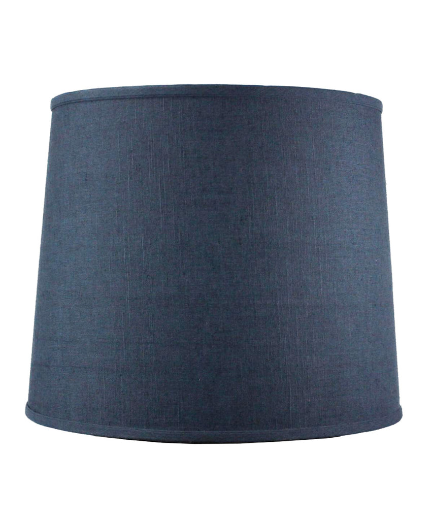12x14x14 SLIP UNO FITTER Textured Slate Blue Drum Shade
