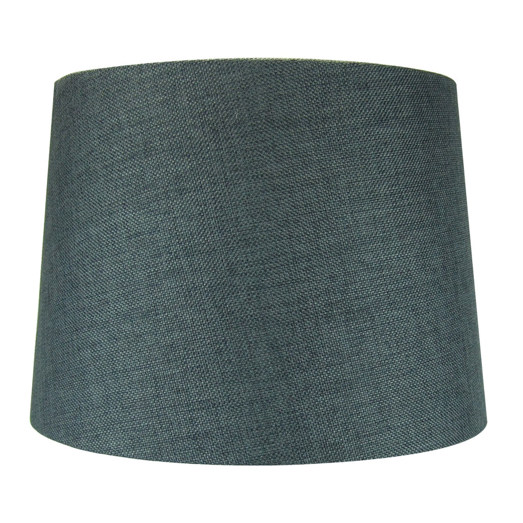 0-002063>Drum 2 Light Swag Plug-In Pendant with Diffuser - Granite Gray Burlap