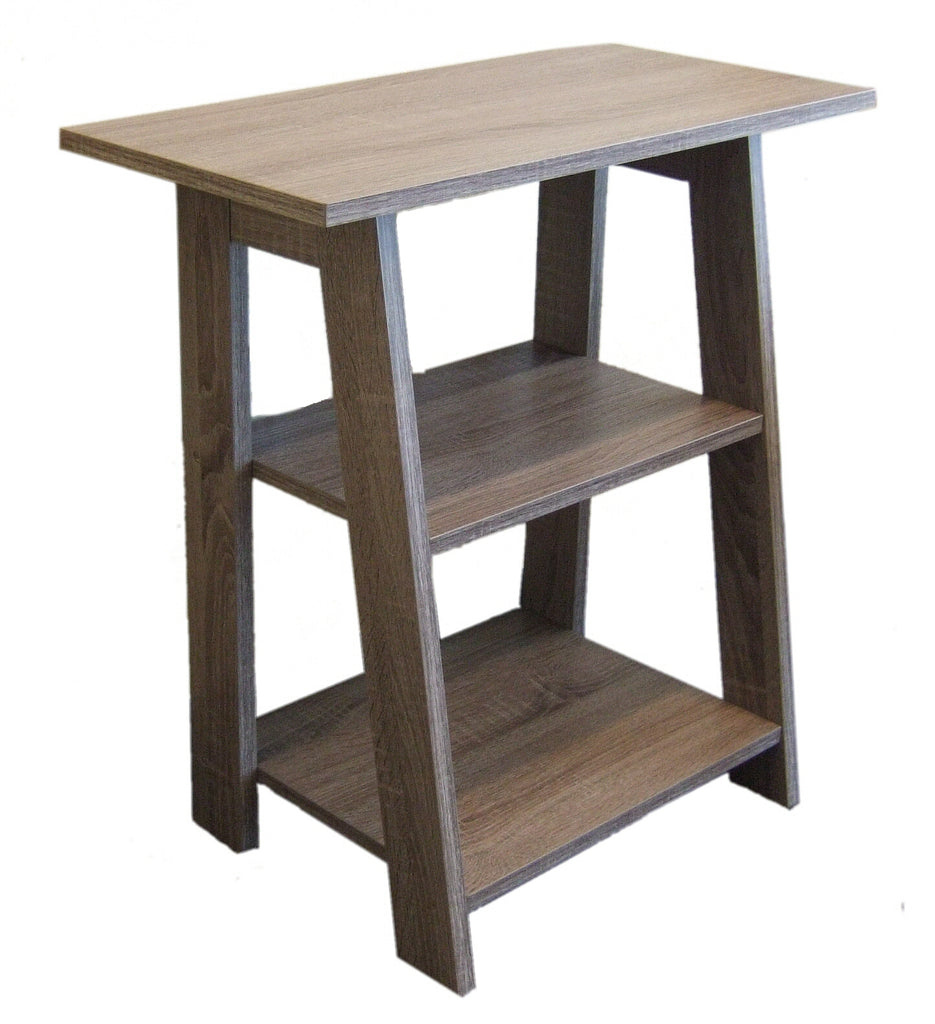 0-000199>Ladder Chairside EndTable Rustic Gray