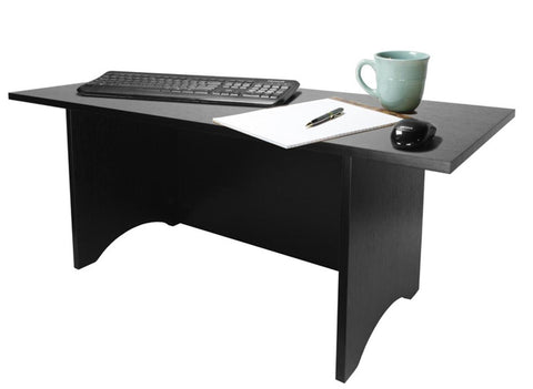 0-000234>TALL Miracle Desk Portable Black Finish