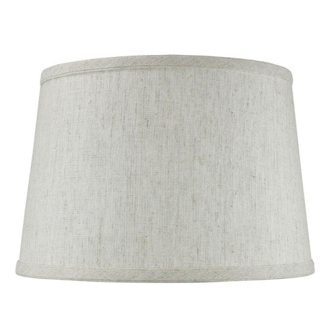 0-002016>Hardback Shallow Drum Lamp Shade 10x12x8 Textured