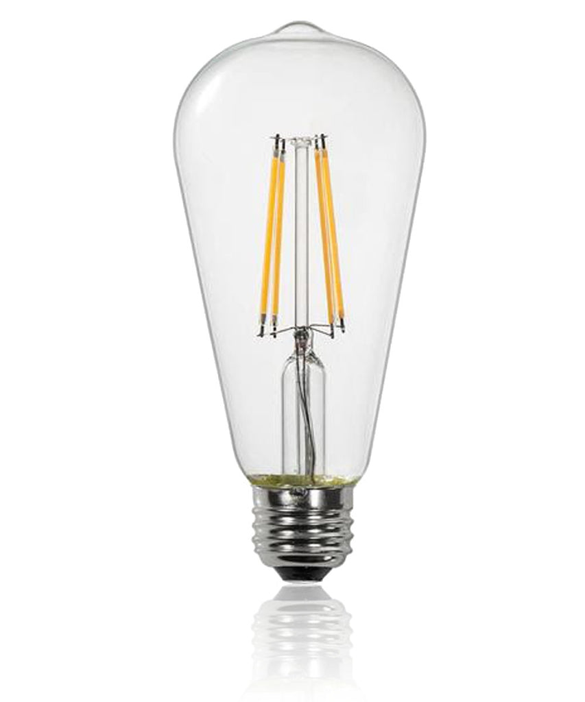 0-004126>Vintage Dimmable LED Light Bulb 7w, S21, 2700K,  700lm