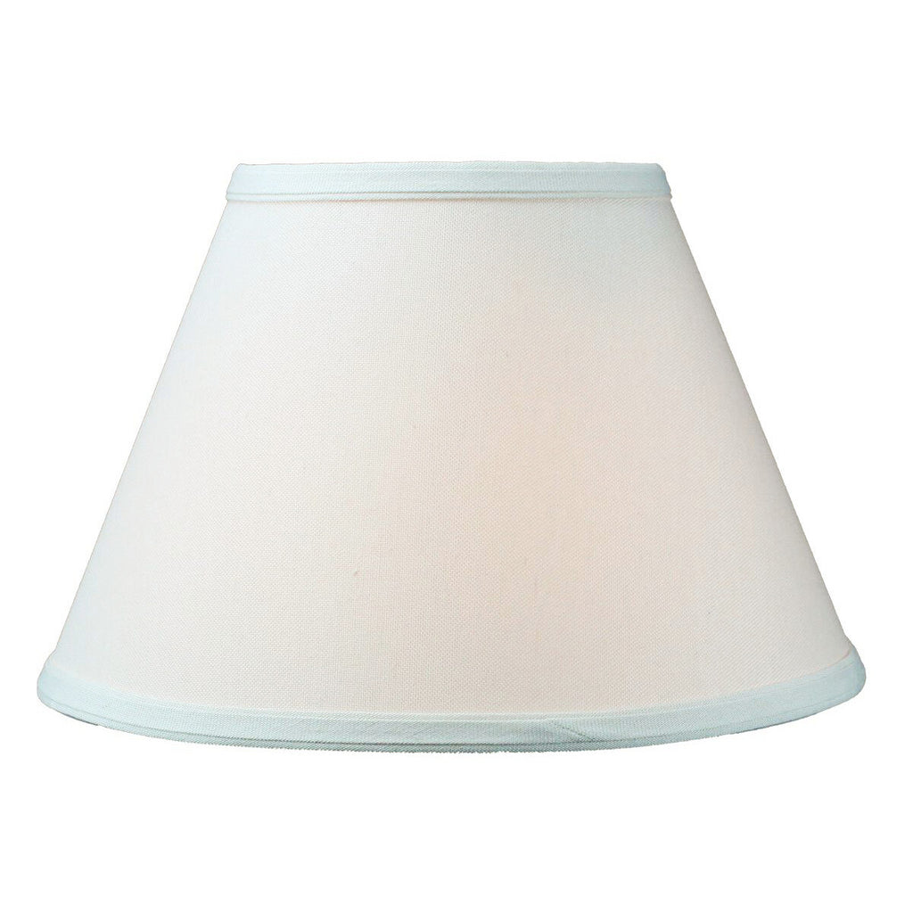 0-000195>6x12x8 Threaded UNO Downbridge Lampshade Light Oatmeal