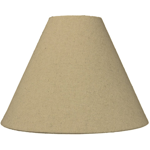 0-004103>4x11x9 Sand Linen Coolie Lampshade
