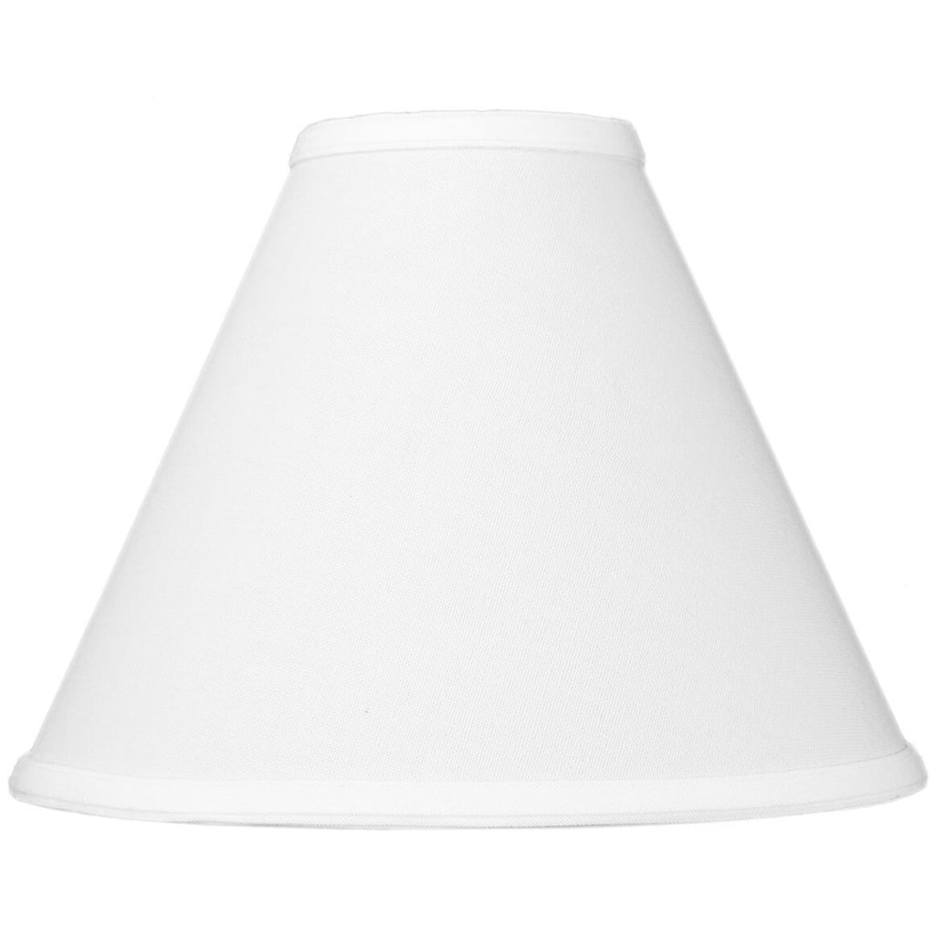 0-003237>4x11x9 White Coolie Lampshade