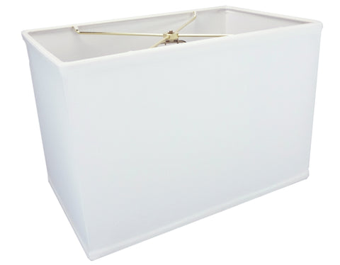 0-002028>Rectangular Drum Lampshade (10x16) (10x16) x 11 White