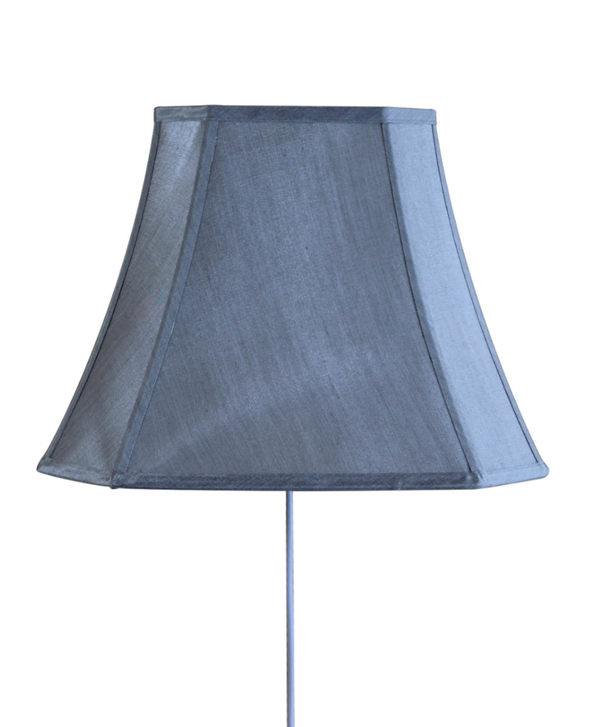 Floating Shade Plug-In Wall Light Gray 9x16x12