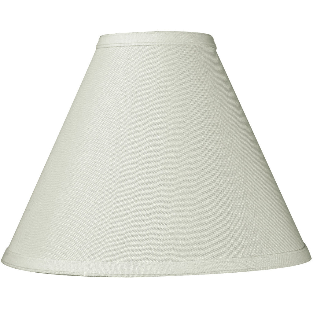 0-004355>4x11x9 Light Oatmeal Linen Coolie Lampshade