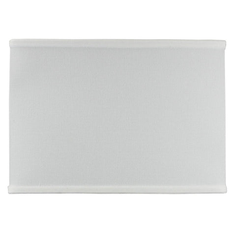 0-002029>Rectangular Drum Lampshade (8x14) (8x14) x 10 White