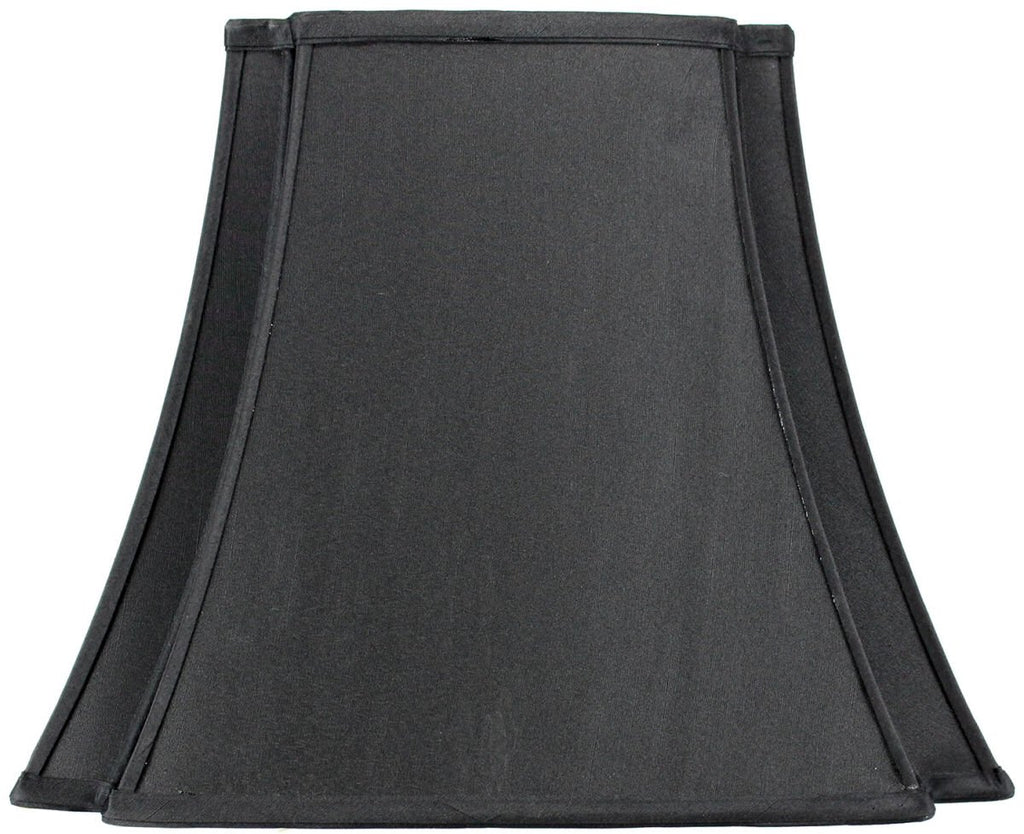 0-000184>9x16x13 Black with Gold Liner Lampshade