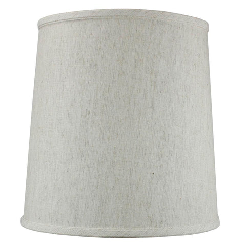 0-002018>Textured Oatmeal Drum Shantung Shade