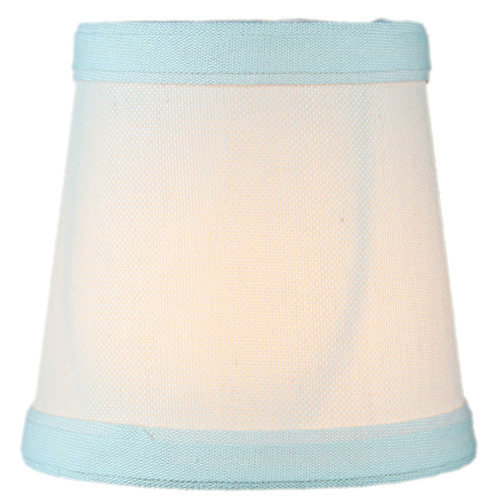 0-000951>3x4x4 Clip-on Candelabra Lamp Shade Light Oatmeal