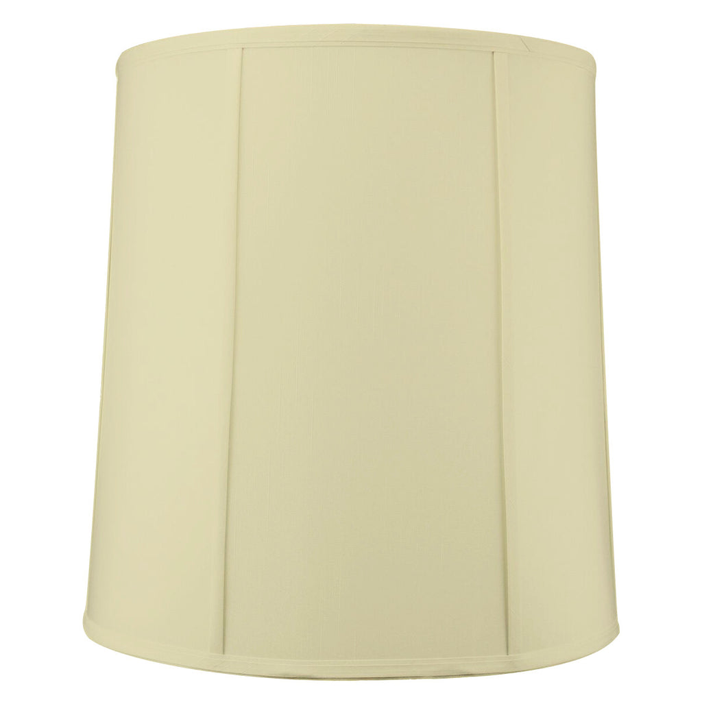 0-000051>14x16x17 Egg Shell Shantung Drum Lampshade