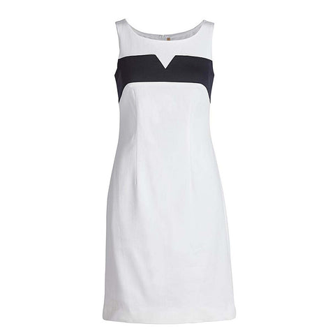 Sleeveless Empire Line Stretch Dress