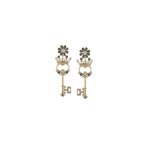 Dolce & Gabbana Earrings Crown Key WEG8C3 W0001 ZOO00