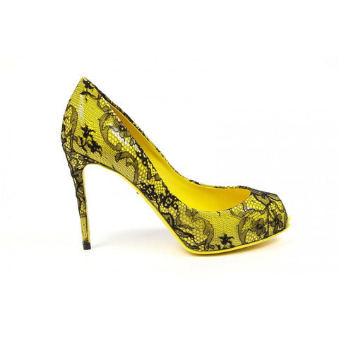 Dolce & Gabbana decollete open toe Bette C18992 AF255 8S830
