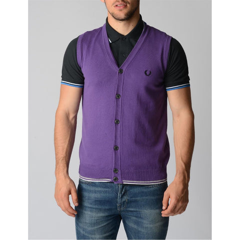 Fred Perry Mens Waistcoat 30412165 0036