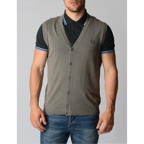 Fred Perry Mens Waistcoat 30432011 0192