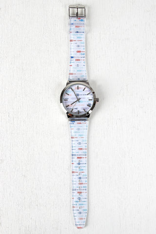Multicolor Arrow Watch