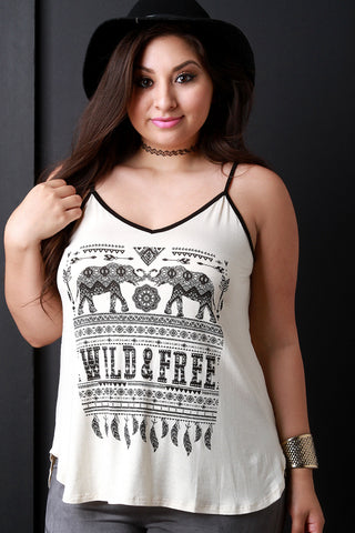Wild and Free Tunic Top