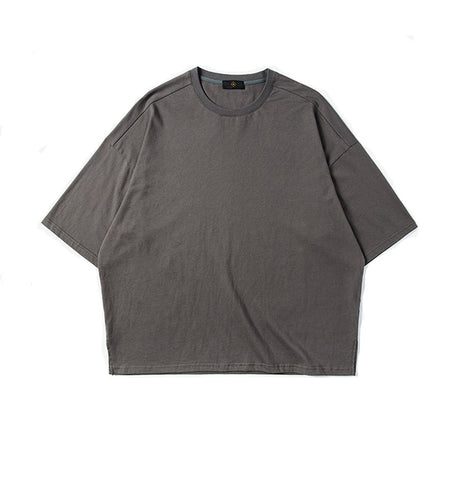 Boxed Tee - Metallic Grey