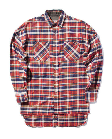 Oxford Flannel - Red