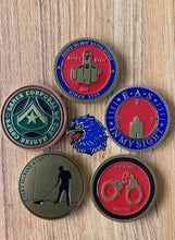 Load image into Gallery viewer, 5pc CHALLENGE COIN SET - Best Value !!