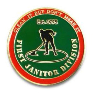 FIRST JANITOR DIVISION/LCPL OF THE MARINE CORPS