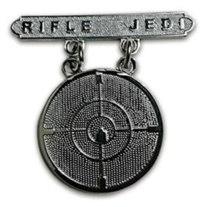 RIFLE JEDI BADGE (u.s.m.c)