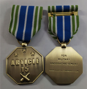 ARTICLE 15 - (Army/AirForce)