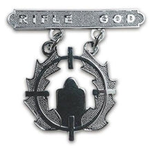 Load image into Gallery viewer, RIFLE GOD BADGE (u.s.m.c)
