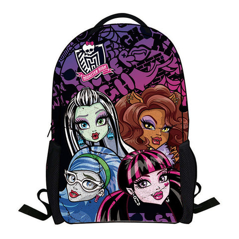 42cm Monster high backpack - Free Shipping to N.A. 783a21fe649cc
