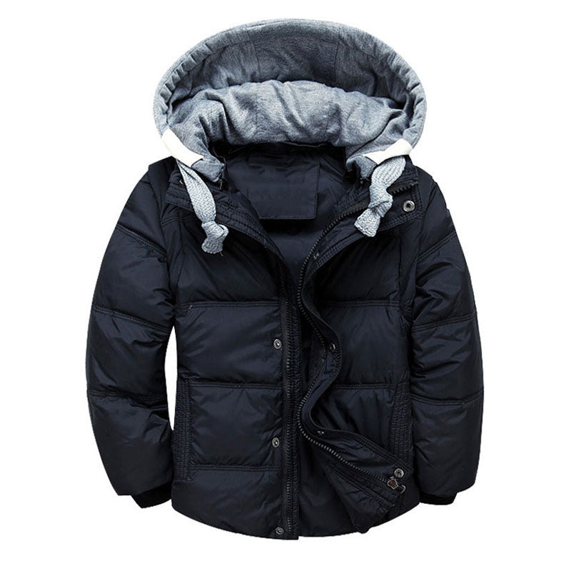 fe94563e4 Boys Down Warm Winter Jacket and Vest, convertible
